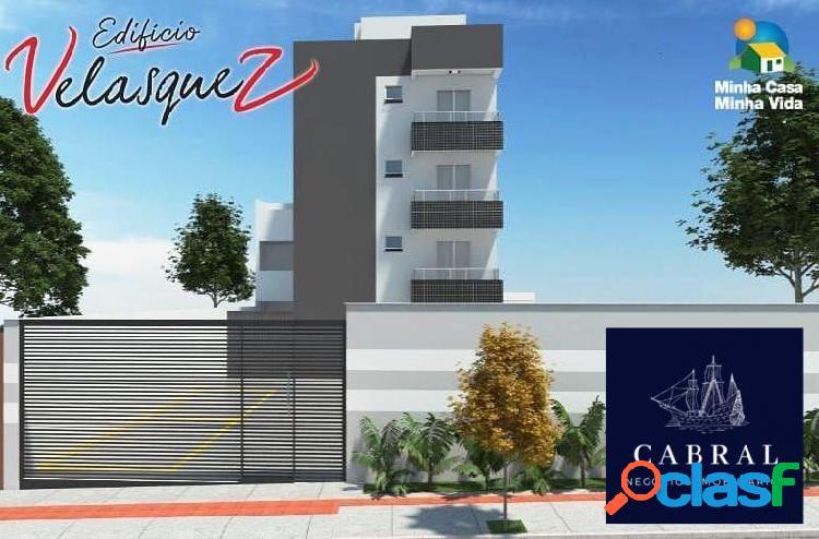 Excelente apartamento 49m² a venda no bairro xangri-lá / nacional