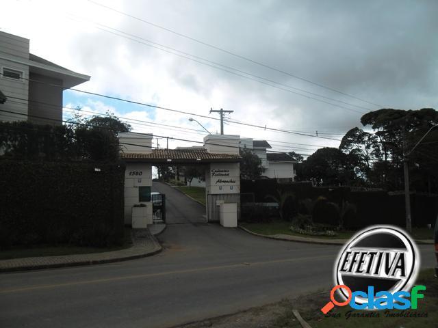 Terrenos condomínio fechado - abranches - curitiba pr