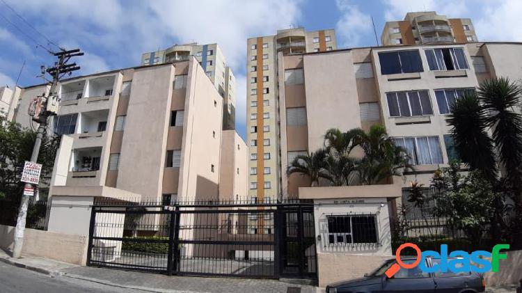 Apartamento com 2 dorms em taboão da serra - chacara agrindus por 220 mil à venda