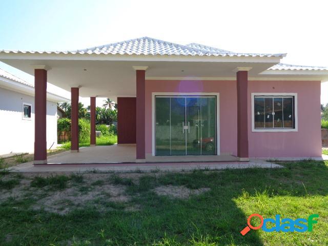 Casa nova - venda - araruama - rj - lake view - bananeiras