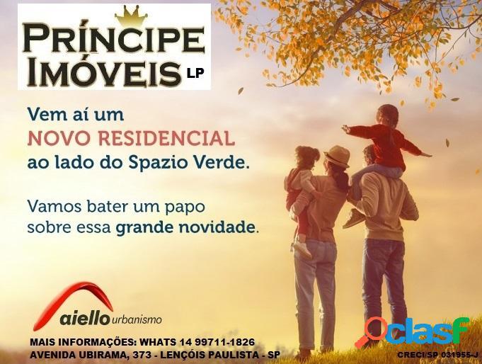 Terreno - Venda - Lençóis Paulista - SP - Spazio Verde