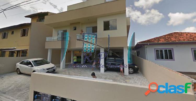 Apartamento com 2 dorms em florianópolis - ingleses do rio vermelho por 125 mil à venda