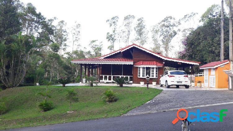 Linda casa de campo - condomínio fazenda da ilha - embu guaçu