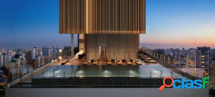 D´oru vila nova conceição - apto de 46m² - sofisticação que inspira seu mo