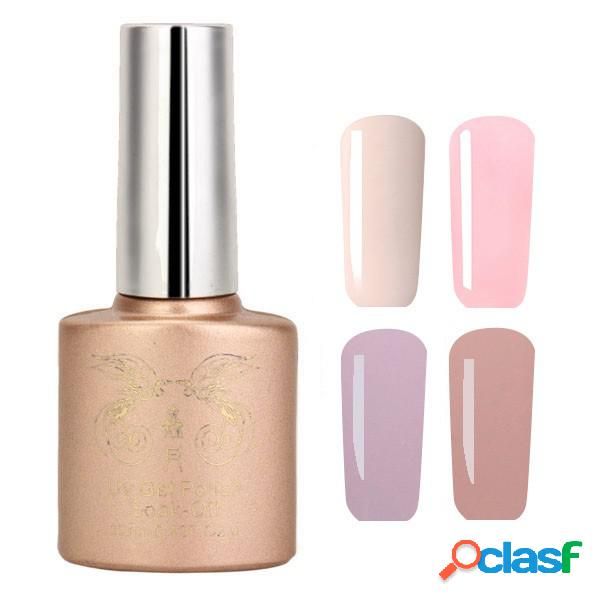 12 cores nano white naked color system uv gel polish soak-off nail art 12ml