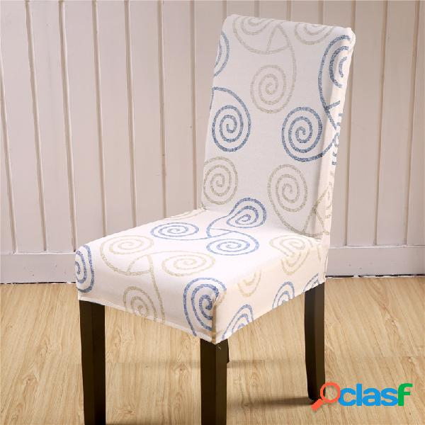 Elegant flower landscape elastic stretch chair seat cover computer dining home home wedding decor