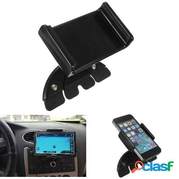 7inch ajustável carro cd slot mobile mount holder stand para ipad mini