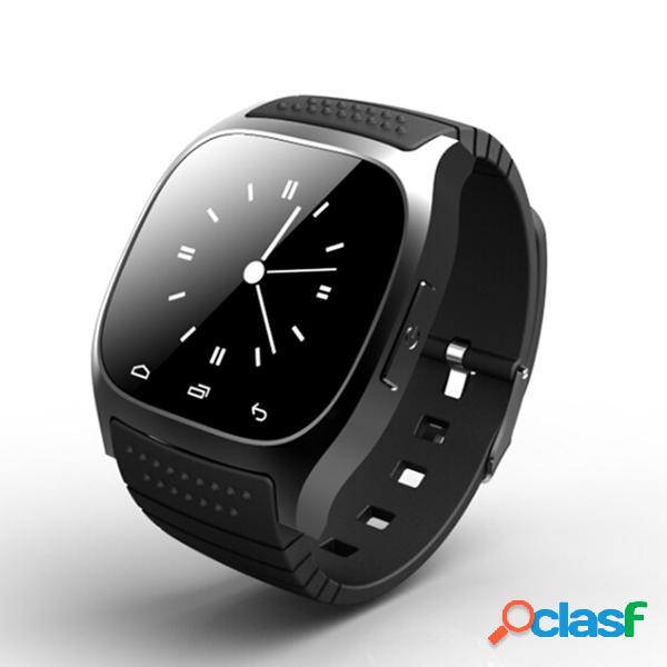 M26 bluetooth relógio digital esportivo anti-perda para android