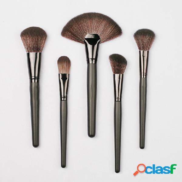 32 peças conjunto profissional de pincel cosmético com bolsa pu