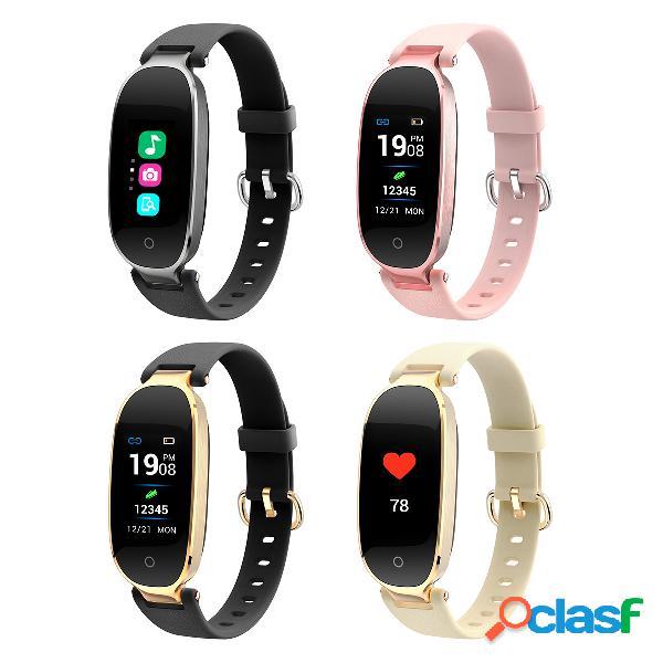 S3 inteligente relógio da frequência cardíaca moda à prova d 'água bluetooth sports bracelet para mulheres saúde monitor
