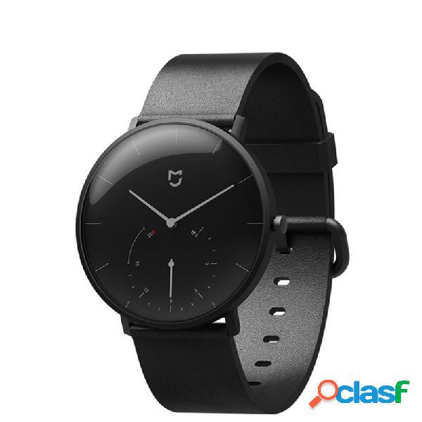 Relógio de quartzo na moda relógio de couro inteligente e inteligente à prova d'água banda vip call watches