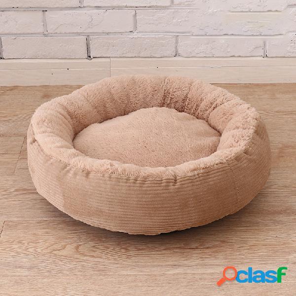 3 cores anti-risco inverno quente pet cama canil cão gato macio plush ninho cama