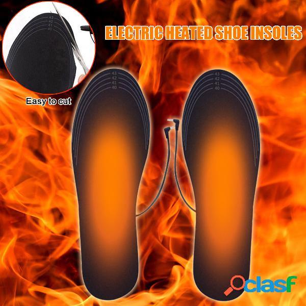 Calefator de calor aquecido elétrico preto aquecedor de pé quente desodorante respirável lavável tailorable tamanho pad