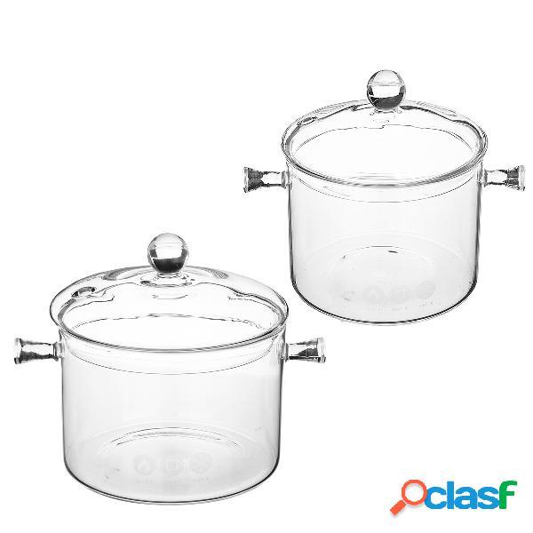 1.5 1.7l panela de vidro pote elétrico cerâmico fogão tigela de aquecimento ferramenta de cozinha cozinha