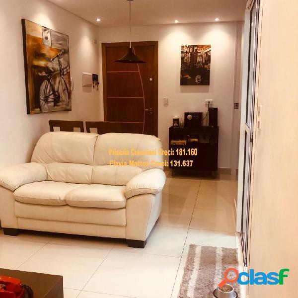 Apartamento na vila valparaíso - santo andré - pronto para morar