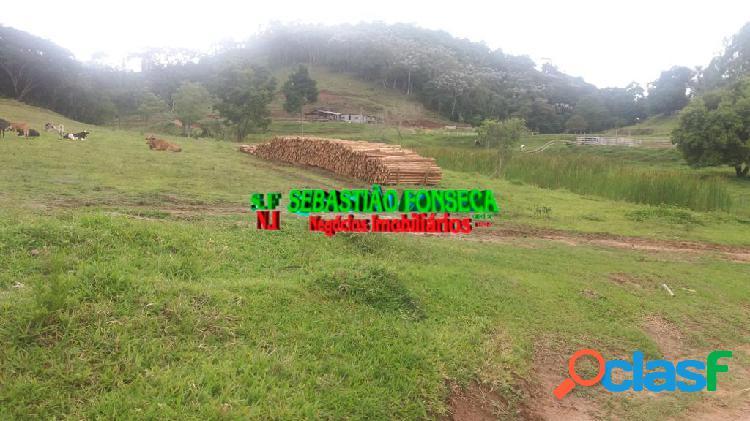 Terreno, chácara com 10 mil m² em paraibuna