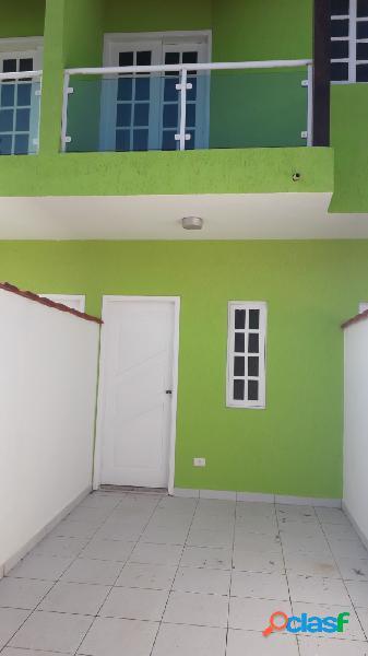Casa nova sobreposta baixa a menos de 100m da praia itanhaem s/p