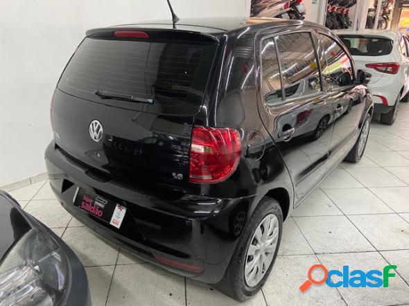 Volkswagen fox 1.6 mi total flex 8v 5p preto 2012 1.6 flex