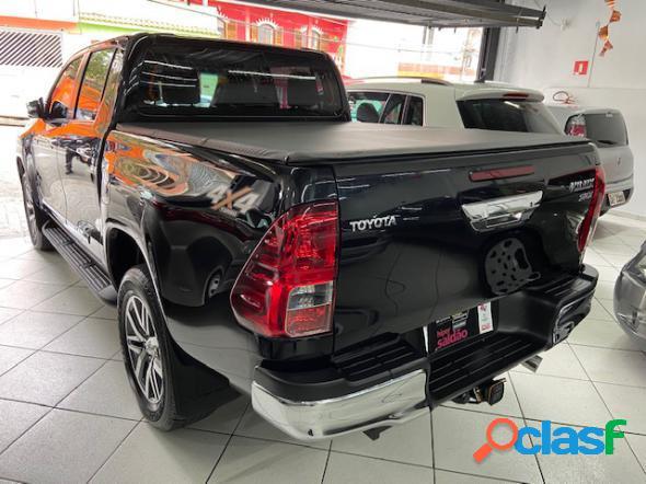 Toyota hilux cd srx 4x4 2.8 tdi 16v diesel aut. preto 2017 2.8 diesel