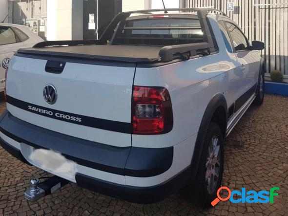 Volkswagen saveiro cross 1.6 t. flex 16v ce branco 2015 1.6 flex