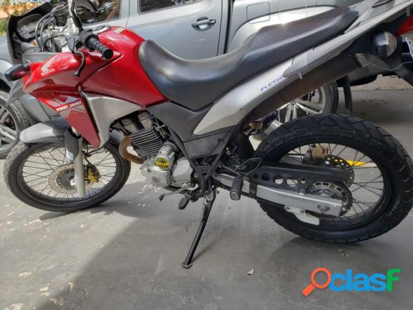 Honda xre 300 300 abs flex vermelho 2014 300cc gasolina