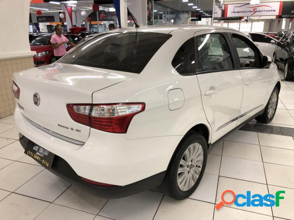 Fiat grand siena essen.sublime 1.6 flex branco 2015 1.6 flex