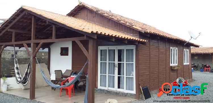 Casa nova pré-fabricada, em bal. barra do sul - sc.