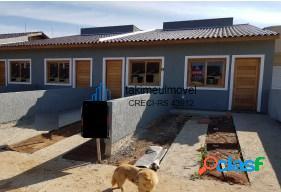 Casa com 2 dormitórios à venda, 50 m² por r$ 145.000 jardim algarve - alvorada/rs