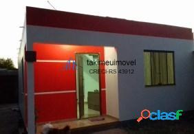 Casa com 2 dormitórios à venda, 75 m² por r$ 110.000 umbu - alvorada/rs (ccv)