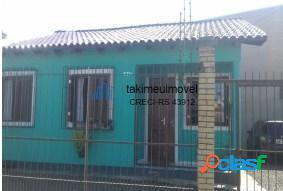 Casa com 3 dormitórios à venda, 57 m² por r$ 212.000 jardim algarve - alvorada/rs