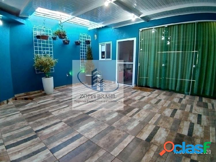 Ca910 - casa à venda em americana, jardim terramérica, 120m², 3 dormitórios