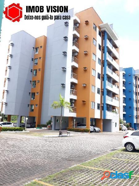 Apartamento no parque 10 - residencial miami beach   98m²