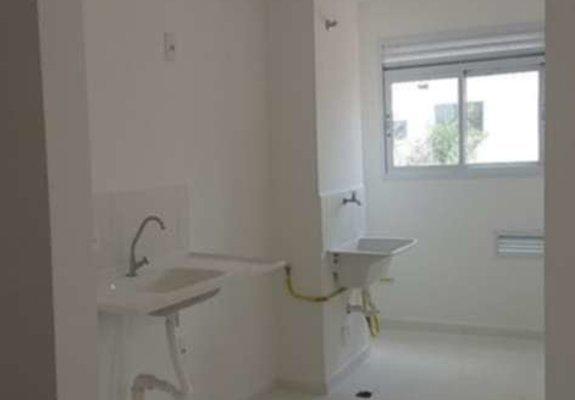 2 quartos à venda, 43,70 m² com vaga para automóvel por