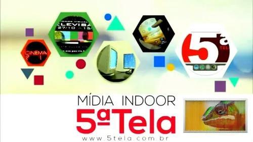 5ªtela mídia indoor