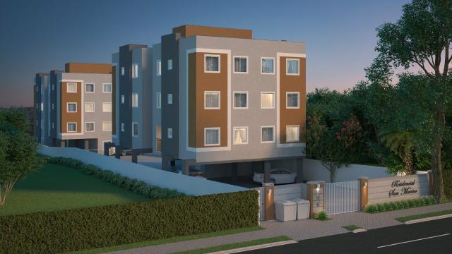 Apartamentos em araucária com entrada parcelada.