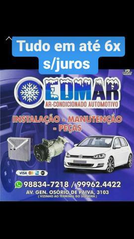 Ar condicionado automotivo / veícular peças e serviços