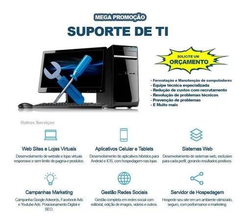 Assistência e suporte técnico