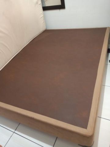 Base box colchão casal
