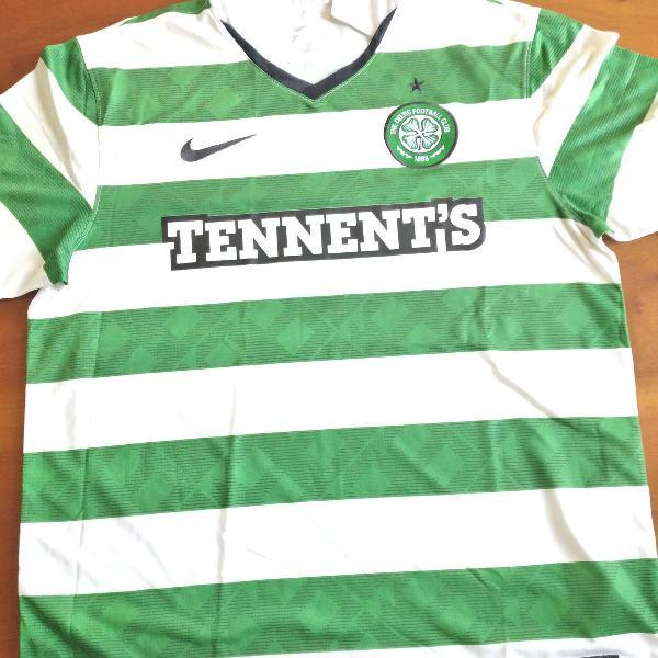 Camisa Celtic, Nike, tamanho L, 2013/2014