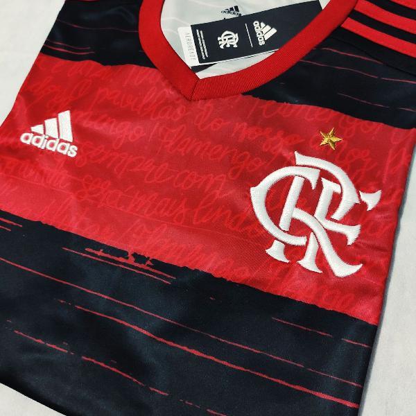 Camisa flamengo 2020 home (tam g) pronta entrega