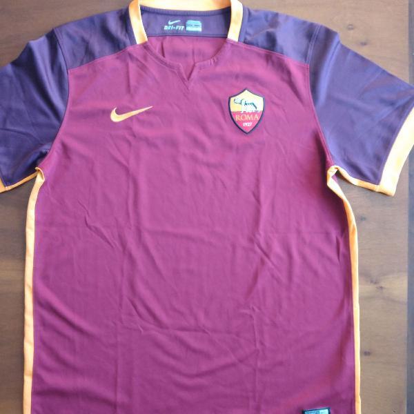 Camisa Roma, Nike, tamanho L, 2015/2016