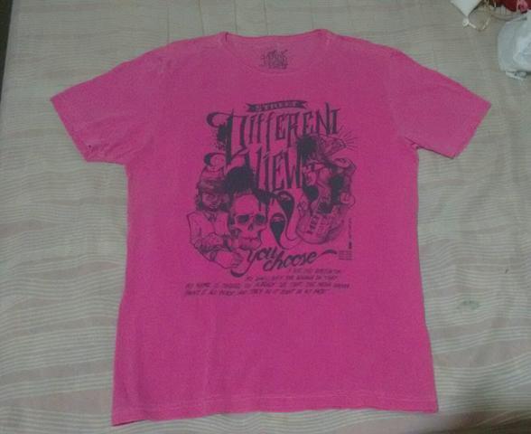 Camisa masculina c/ estampa tamanho g