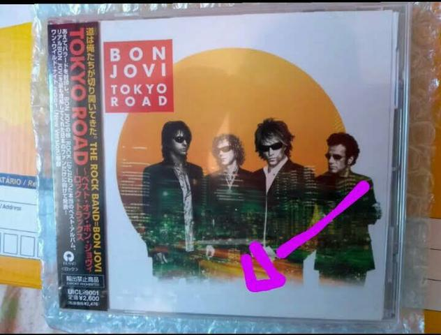 Cd bon jovi tokyo road japan 2001.