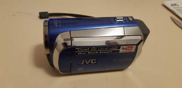 Câmera filmadora jvc everio gz-ms120 azul