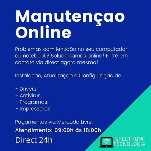 Consultoria e manutenção de computadores via internet