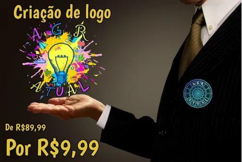 Criação de logo profissional design gráfico