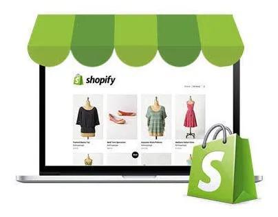 Criação de loja virtual completa shopify+landing page