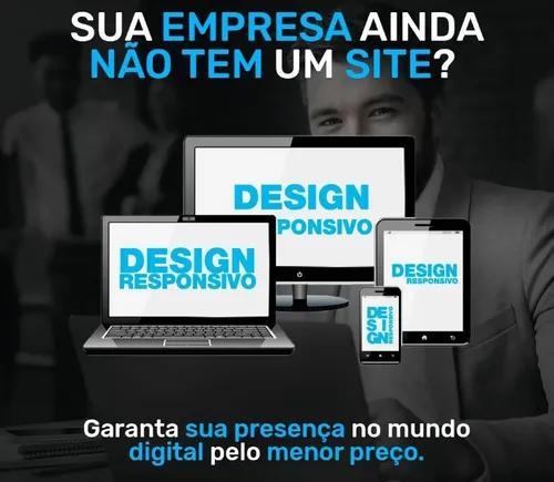 Criação de sites, lojas virtuais ou aplicativos