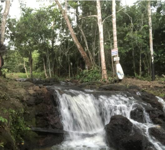 Fazendo com cachoeira