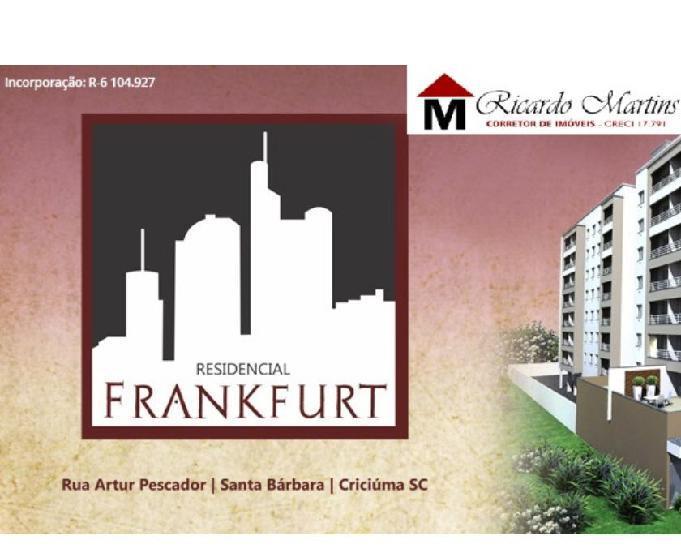 Frankfurt residencial bairro santa barbara criciúma